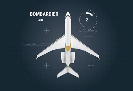 bombardier airplane cartoon blueprint